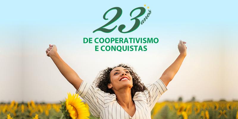 23 anos de cooperativismo e conquistas